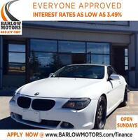 2004 BMW 645 Ci V8 Convertible Heated Seats Leather Navi!!!!