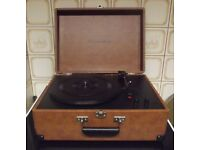 Crosley Keepsake - Portable Record Player with Built in Speakers and USB - Barely Used