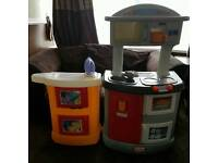 Little tikes kitchen and laundry centre