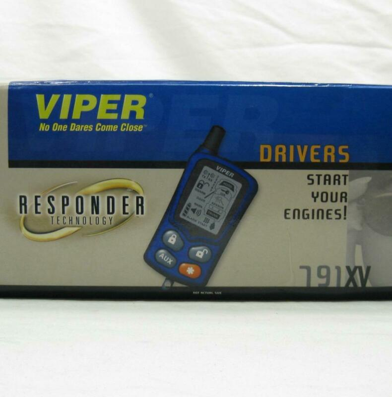 Viper 791XV Car Alarm Remote Start