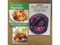 VEGETARIAN Cookbooks X 3