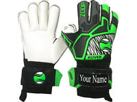 High Quality Roll Finger Saver goalkeeper Gloves Size 8