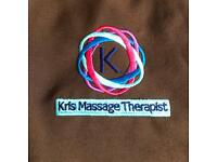 Kris Massage Therapist Professional Deep Tissue Thai massage Holistic Foot Reflexology Back neck