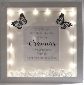 Handmade Photo Frames | Light Up | Quotes | Poems | Perfect Gifts | Buy 2 get 1 half price! |