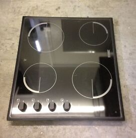 Zanussi Electric Black Ceramic Hob