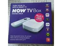 NOW TV BOX WITH SKY MOVIE PACK