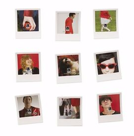 Polaroid-style White Square Photo Frames (pack of 9 by Umbra)