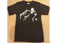 TShirt - Metallica (Size S) -- Never worn