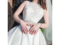 Ronald Joyce Wedding Dress UK 12