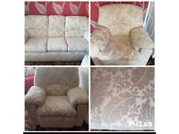 3 piece suite- settee anf two chairs