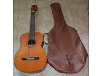 Suzuki Acoustic / Classical Guitar - Made In Japan - Model No. 1668 - Serial No. 15666