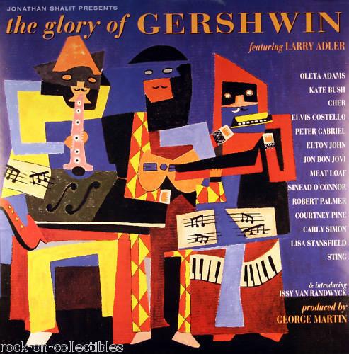Elton John Cher John Bon Jovi 1994 Gershwin Original Promo Poster