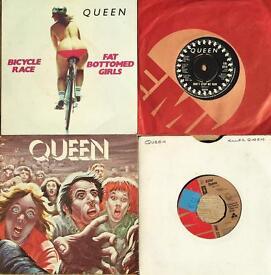 Queen 7 inch singles