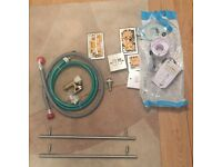 Various electrical and plumbing items