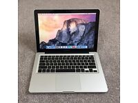 "Apple MacBook Pro 13.3"", 6GB Ram,500GB Hard Drive Office 2016. FREE DELIVERY"
