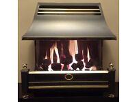 Flavel Renoir 4.4 KW Coal Effect Gas Fire (Pewter)