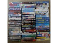 VHS aviation video tapes