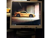 "Philips 170B4 - 17"" TFT LCD Monitor - Grade A with cables"