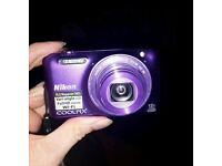 Nikon Coolpix S6600 in Purple - Near Imaculate condition - Full Working Order