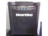 HARTKE B300 30 Watt Bass Guitar Amp & Speaker Combo