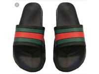 Men's Gucci inspired sliders size 11