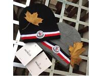 Moncler hats available postage or cash on collection