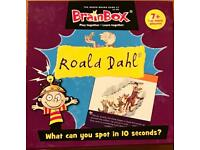 Roald Dahl BrainBox Game Age 7+. Very Good Condition And Complete.