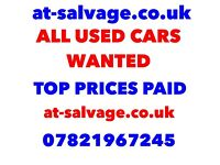 Scrapping a car scrapping my car cash on collection all cars vans motorbikes top price guaranteed