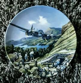 COLLECTION OF ROYAL DOULTON RAF DECORATIVE PLATE