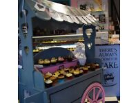 Sweet cart, Cupcake cart