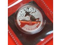CANADIAN MINT 20 DOLLAR CHRISTMAS GIFT CARD FROM 2013
