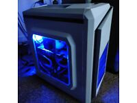 Solid & Hustle-free Gaming PC (i7 4790, RX 580, 16 GB RAM, 480 GB SSD, Windows 10)