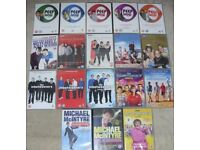 Comedy 18 X DVD Bundle INBETWEENERS Peep Show GAVIN & STACEY Mrs Browns Boys etc