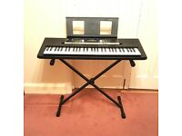 Yamaha Keyboard/Electric Piano +Stand +Sustain Pedal