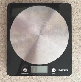 Salter Disc Electronic Scale - Black