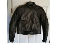 Frank Thomas ladies biker leather jacket, trousers, boots and gloves