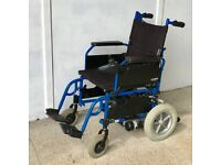 Dual Control Wheelchair - very rare electric wheelchair mobility scooter