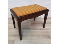 Stag Minstrel Dressing Table Stool (DELIVERY AVAILABLE FOR THIS ITEM OF FURNITURE)