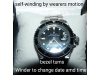Mens watch heavy autowinding dress watch