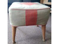 Retro 1950/60s Seat/Footstool.