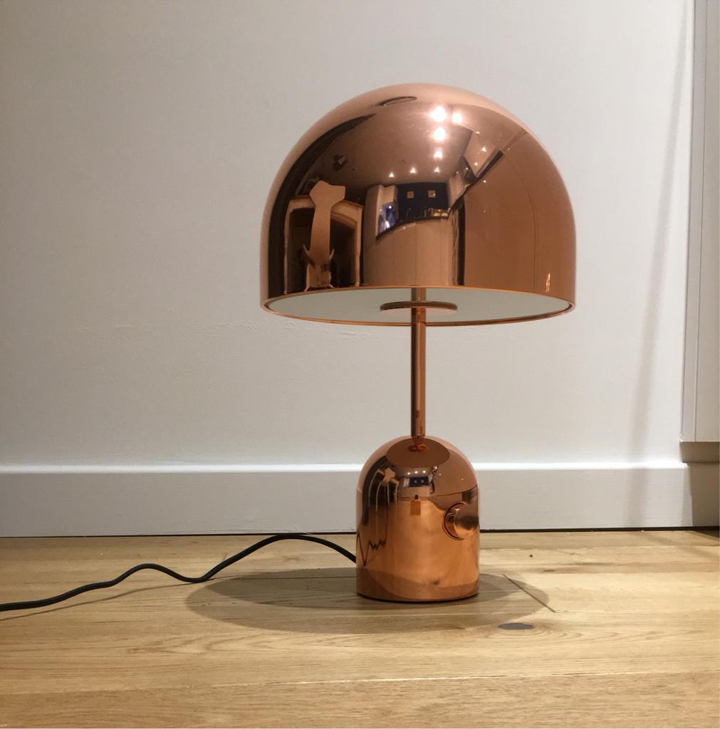 GENUINE Tom Dixon Bell table lamp, copper finish   in ...