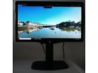 """24"""" Viewsonic 1080P Monitor with upgraded adjustable stand"""
