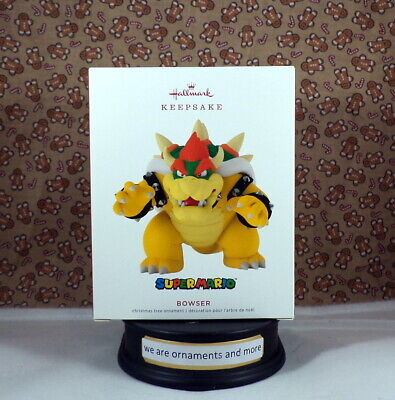 2019 Hallmark Bowser - Super Mario Christmas Ornament