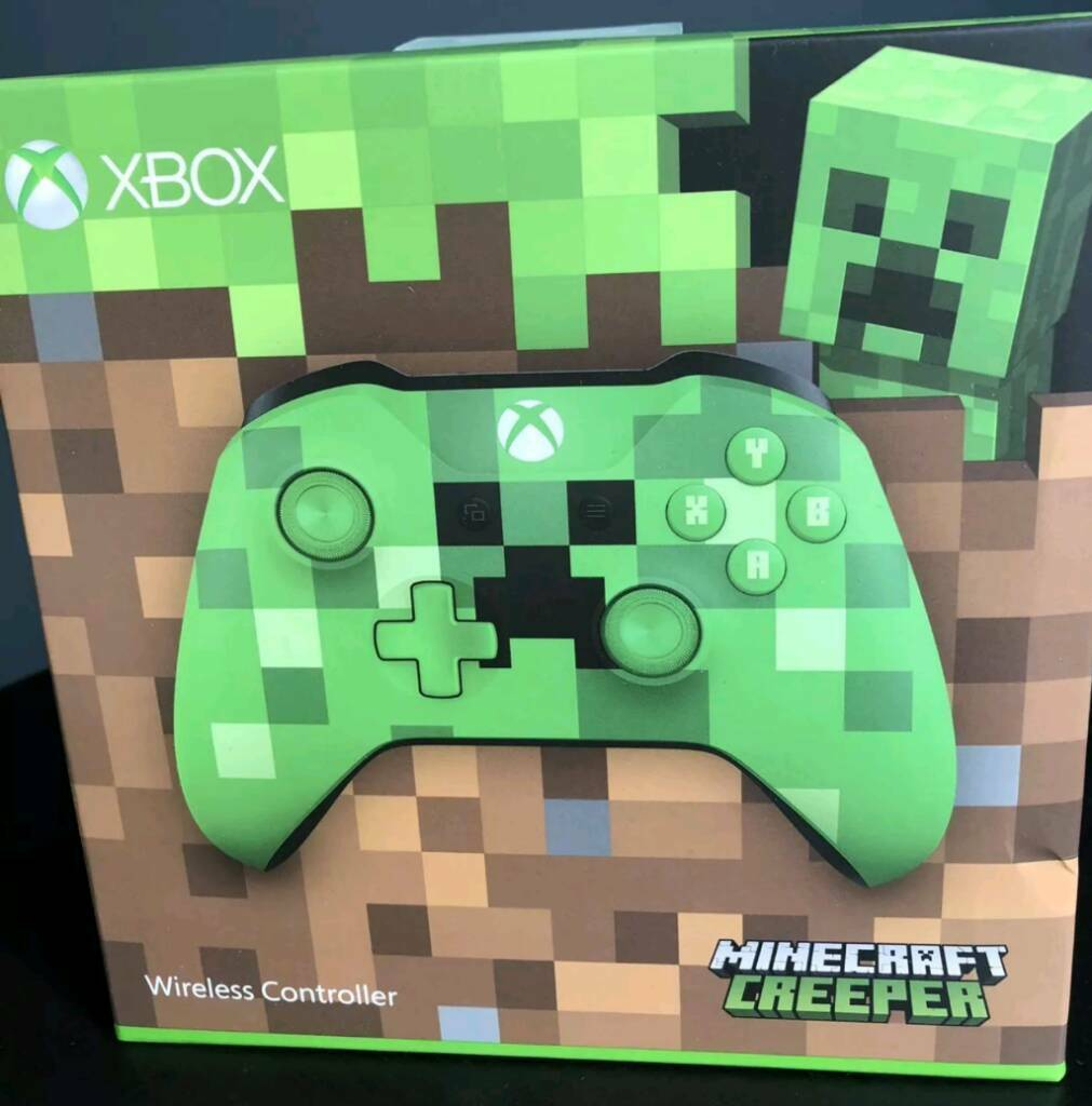 Xbox one minecraft creeper controller | in Bletchley, Buckinghamshire |  Gumtree