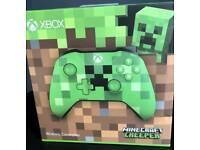 Xbox one minecraft creeper controller