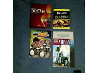 Drum books and dvds