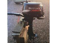 Suzuki 6hp 4 Stroke Outboard Engine. Excellent Condition