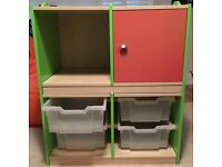 Children's Bookshelf / Toy Storage Chest