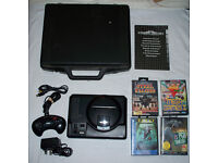 Sega megadrive 1 with controller, leads, 4 games, instructions and carry case!!!