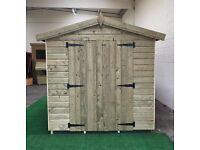 Shed Heads- Custom made sheds and summerhouses, any size made